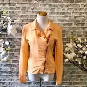 Maurices Peach Jacket- Small